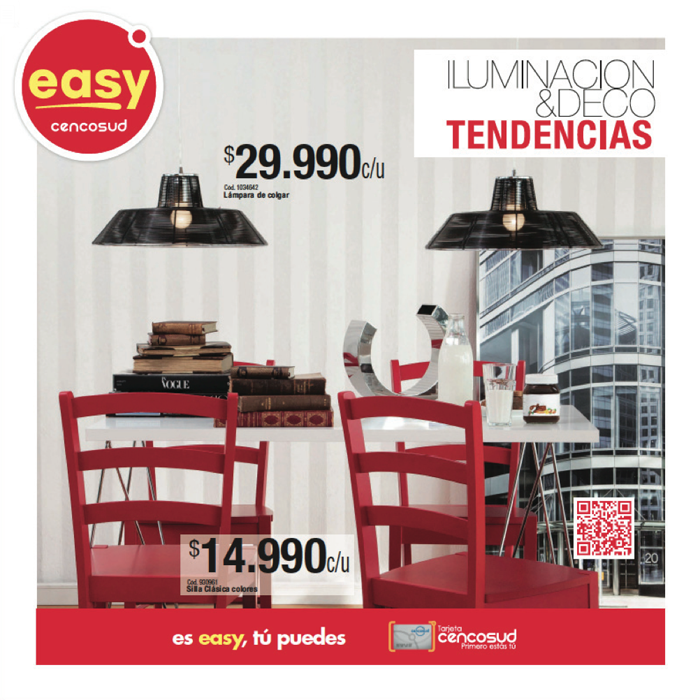 Catalogo Iluminación / Easy
