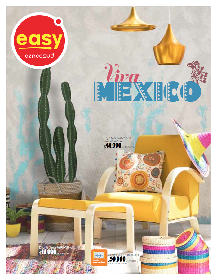 Catalogo Mexico / Easy
