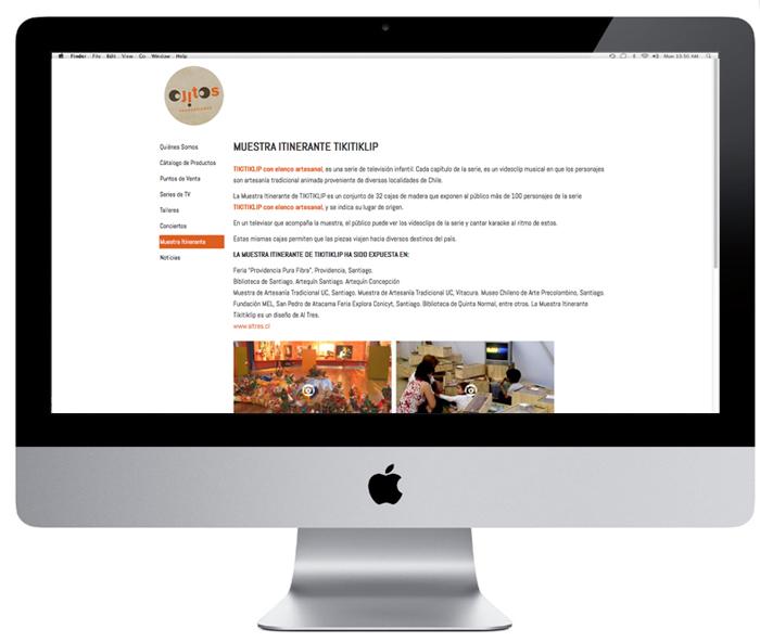Web Ojitos Producciones / Tikitiklip