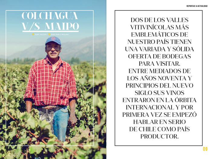 Revista SALÚ / HelloWine Chile